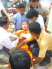 Khmer Krom Buddhist monks assaulted by the security police, Soc Trang, Feb 2007