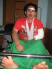 Father Ngo The Binh beaten by the police in Tam Toa Parish, July 28, 2009
